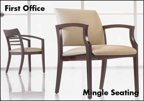 First Office Mingle Guest Chairs