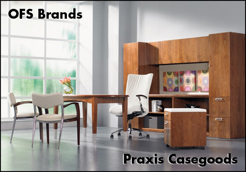 OFS Praxis Casegoods