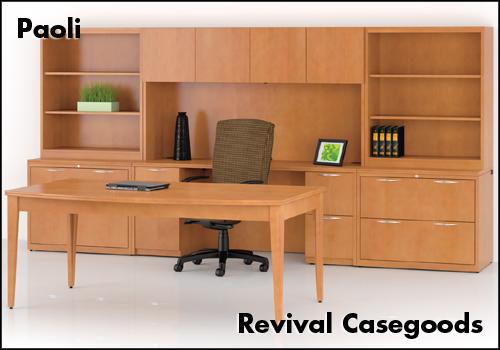 Paoli Revival Casegoods