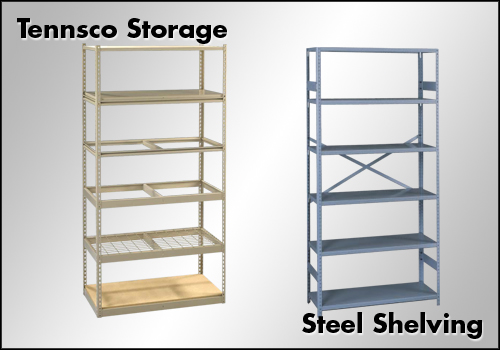 Tennsco Steel Shelving