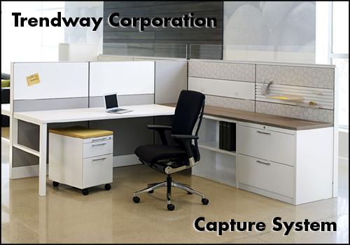 Trendway Capture Frame and Tile System